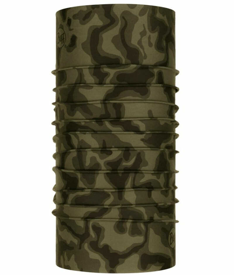 "Studio photo of the Original BUFF® XL Design ""Crook Military"". Source: buff.eu"