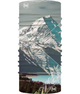 "Studio photo of the Original Buff® Mountain Collection Design ""Mount Cook"". Source: buff.eu"