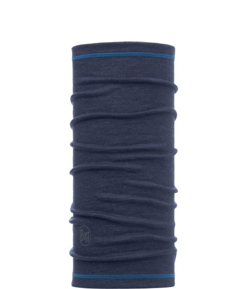 "Studio photo of the 3/4 Wool Buff® Design ""Denim"". Source: buff.eu"