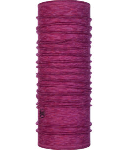 "Studio photo of the Wool Buff® Design ""Raspberry Multi Stripes"". Source: buff.eu"