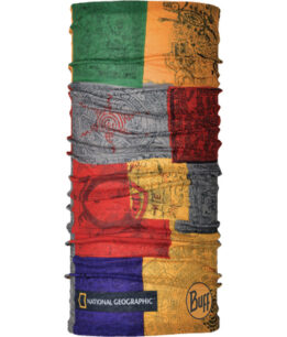 "Studio photo of the Original Buff® National Geographic Collection Design ""Temple"". Source: buff.eu"