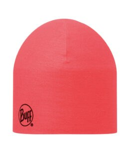 """A studio photo of the 203069 Pro Thermal Hat """"Red Fluor"""". Source: buff.eu"""