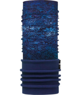 "Studio photo of the Polar Buff® Design ""Fairy Snow Night Blue"". Source: buff.eu"