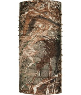"Studio photo of the Coolnet UV+ Buff® Mossy Oak™ Design ""Duck Blind"". Source: buff.eu"