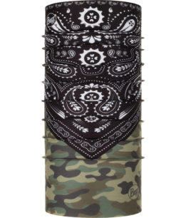"Studio photo of the Original Buff® Design ""Camo Cash"". Source: buff.eu"
