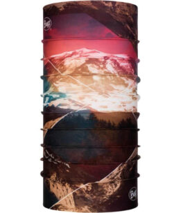 "Studio photo of the Original Buff® Mountain Collection Design ""Mount Rainier"". Source: buff.eu"