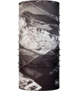 "Studio photo of the Original Buff® Mountain Collection Design ""Denali"". Source: buff.eu"